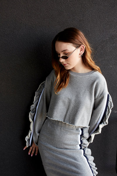 Athletic AF Cropped Sweatshirt