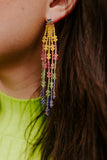 Crystal Colorful Earrings