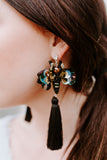 Buzzy Bee Tassel Earrings