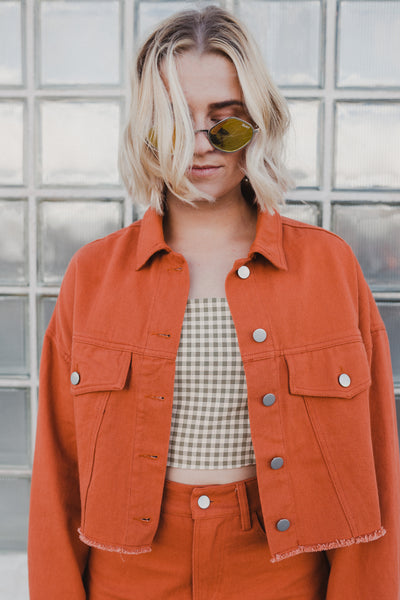 Rusty Business Denim Jacket