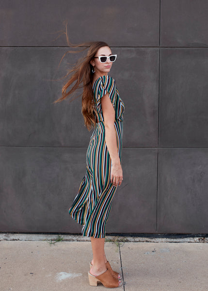 The Stripe Is Right Jumpsuit