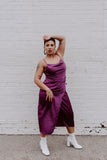 Ultraviolet Vibe Slip Dress