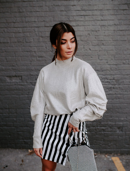 Rib It Out Cropped Sweater