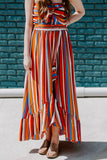 Be Bold Striped Maxi Dress