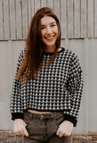 Nothin' But A Houndstooth Sweater