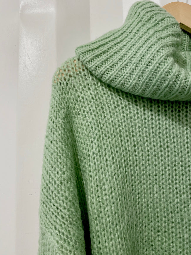 Sage The World Turtleneck Sweater