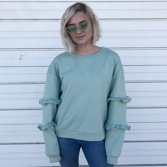 So Fresh Mint Sweatshirt