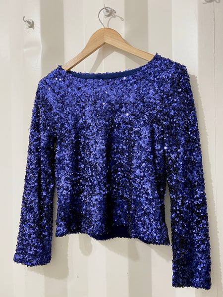 Midnight Hour Sequin Top