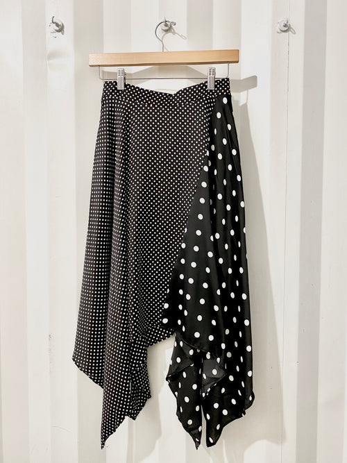 On the Dot Midi Skirt