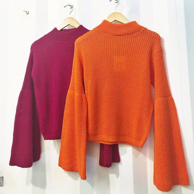 Bold N Sleevy Sweater