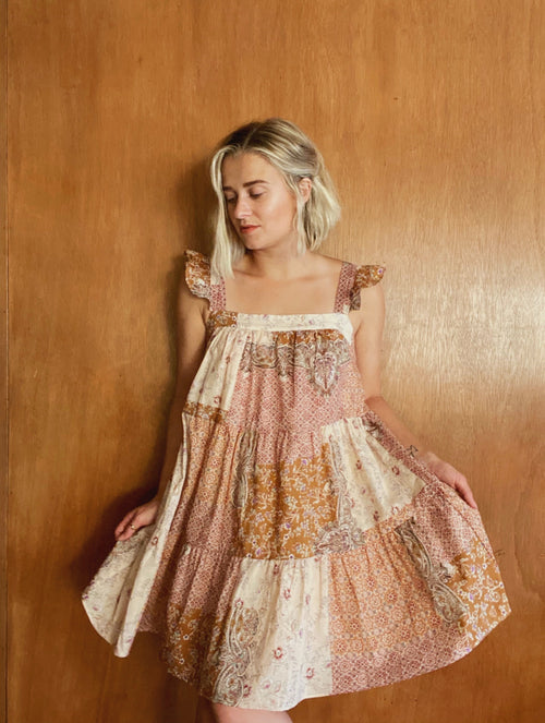 Desert Hills Patchwork Dress