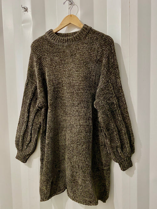 Chenille O'Neal Sweater Dress