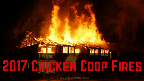 List of 2017 Chicken Coop Fires