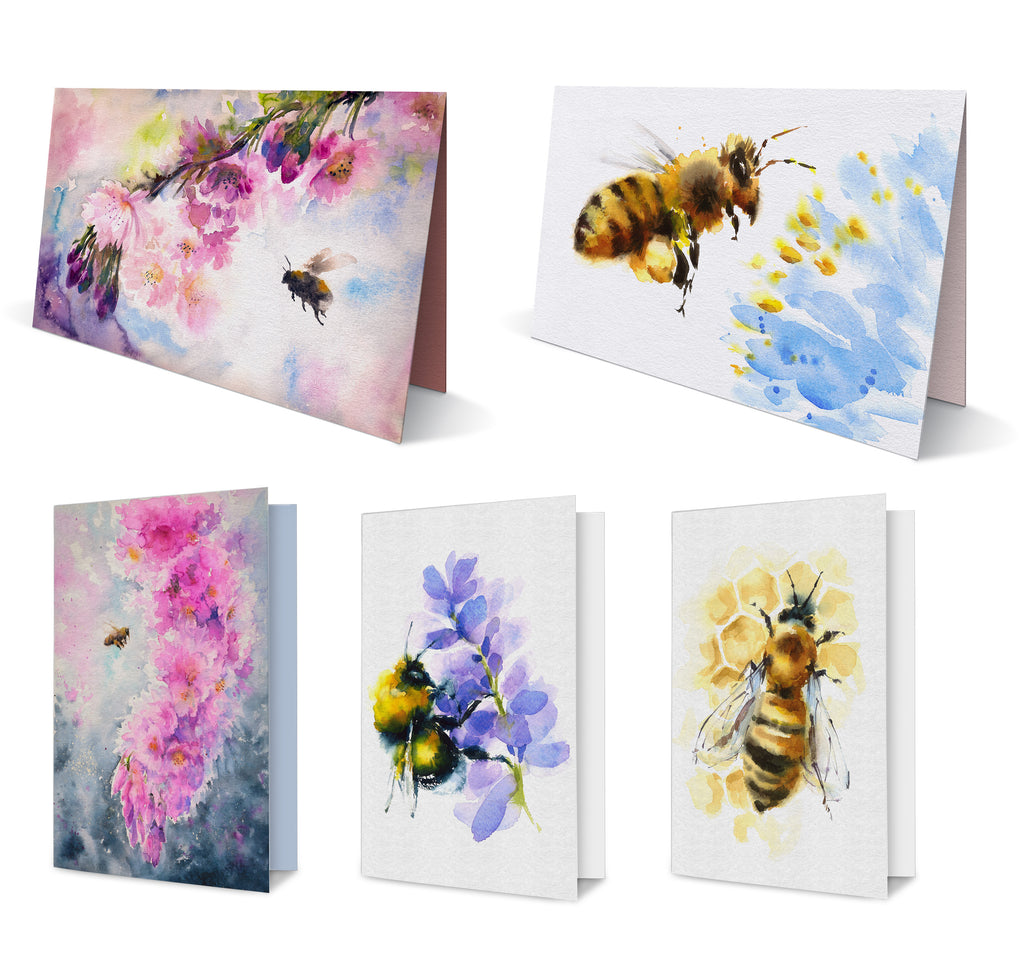 Pollinator Collection Greeting Card Set Heritage Acres Market Llc