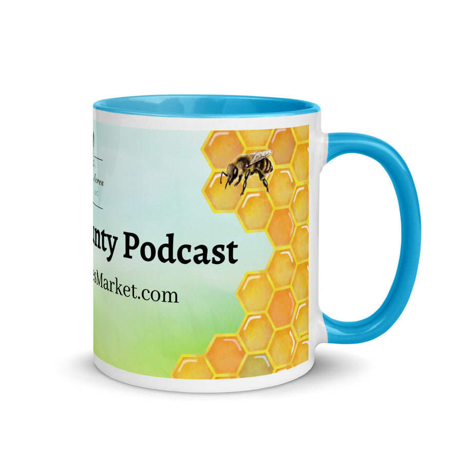 Backyard Bounty Podcast Mug