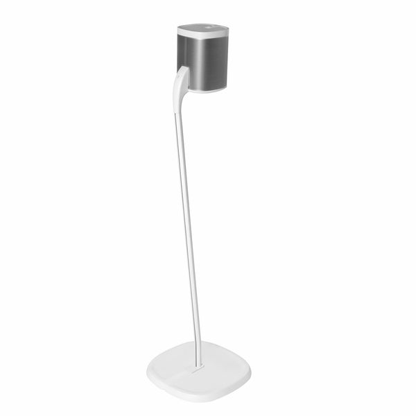 Speaker Stand for SONOS PLAY:1 or PLAY : 3   -   WHITE SINGLE (Not compatible with Sonos One)