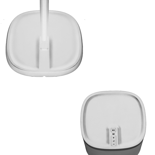 Speaker Stands for SONOS PLAY:1 or PLAY:3 - WHITE PAIR (Not compatible with Sonos One)