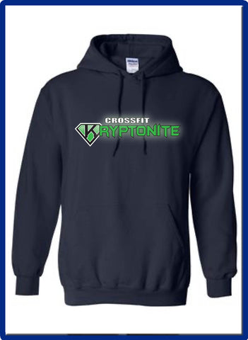 Crossfit Kryptonite - 18500 Gildan Hooded Pullover Sweatshirt