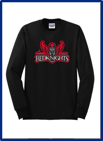 KNIGHTS - 29LS JERZEES® - Dri-Power® 50/50 Cotton/Poly Long Sleeve T-Shirt