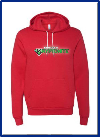 Crossfit Kryptonite - 3719 BELLA + CANVAS - Unisex Sponge Fleece Hoodie