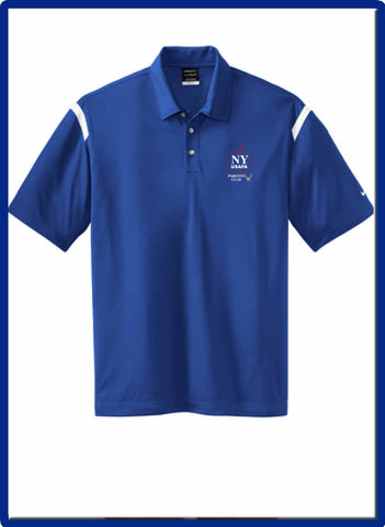 USAFA - 402394 Nike Dri-FIT Shoulder Stripe Polo