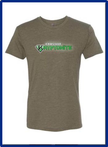 Crossfit Kryptonite - 6010 Mens Next Level - Triblend Crew