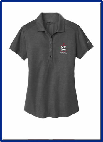 USAFA - 838961 Nike Ladies Dri-FIT Crosshatch Polo