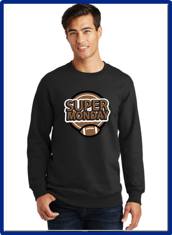 Super Monday - PC850 Port & Company® Fan Favorite™ Fleece Crewneck Sweatshirt