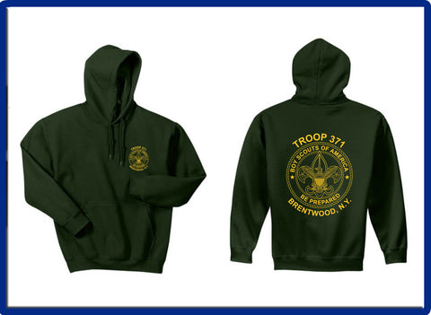 371 -  18500 Gildan® - Heavy Blend™ Hooded Sweatshirt