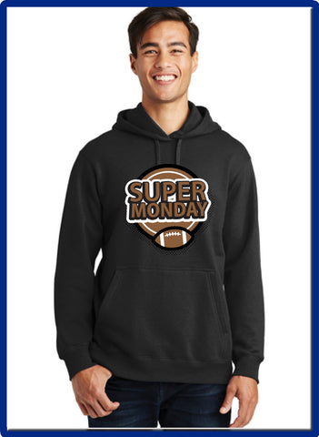 Super Monday - PC850H Port & Company® Fan Favorite™ Fleece Pullover Hooded Sweatshirt