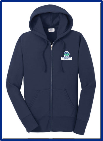 ENV Miller - LPC78ZH Port & Company® Ladies Core Fleece Full-Zip Hooded Sweatshirt
