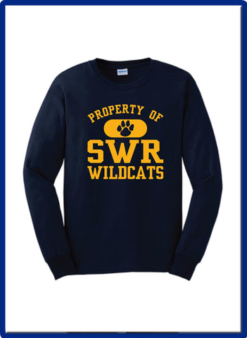 SWR Gear - G2400 PROPERTY OF Gildan Long Sleeve Tshirt