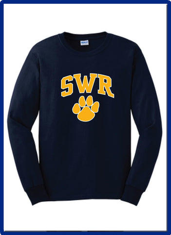 SWR Gear - 2400 PAW Gildan Long Sleeve Tshirt