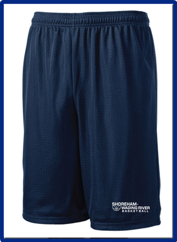 Copy of SWR Basketball - ST515 Classic Mesh Shorts