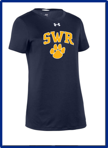 SWR Gear - 1305510 Under Armour Ladies' Locker T-Shirt 2.0