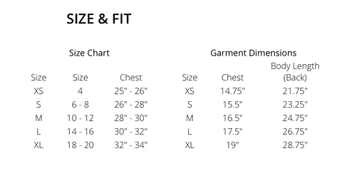 MP Basketball -  SIZING FOR JERSEYS