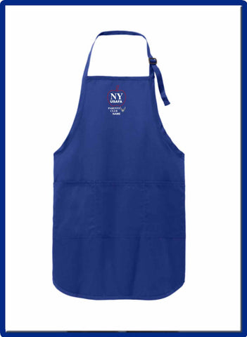 USAFA - A703 EMB NAME Port Authority® Easy Care Full-Length Apron with Stain Release
