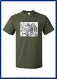 NOT FORGOTTEN - 3930 Fruit of the Loom - HD Cotton Short Sleeve T-Shirt