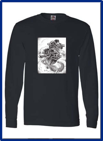 KILLING GROUND - 4930 LONG SLEEVE Fruit of the Loom - HD Cotton Short Sleeve T-Shirt