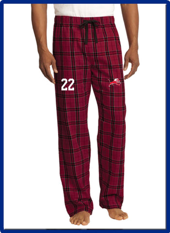 LIONS - DT1800 District ® Flannel Plaid Pant