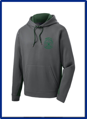 371 -  ST235 Sport-Tek® Sport-Wick® Fleece Colorblock Hooded Pullover