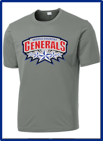 Generals - ST350 Sport-Tek® PosiCharge® Competitor™ Tee