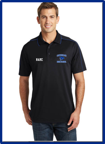 CHS - ST653 Sport-Tek® Micropique Sport-Wick® Piped Polo