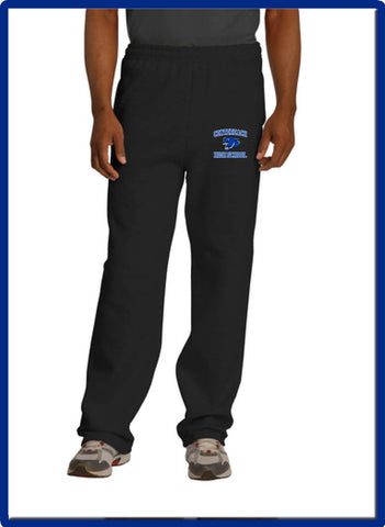CHS - 974MP ERZEES - NuBlend® Open Bottom Sweatpants with Pockets
