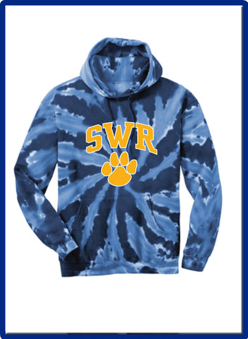 SWR Gear - PC146 Port & Company® Tie-Dye Pullover Hooded Sweatshirt