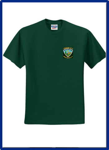 371 -  Troop 371 29M JERZEES® - Dri-Power® Active 50/50 Cotton/Poly T-Shirt