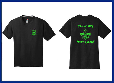 371 -  TROOP PARENTS 4200 Gildan - Performance® T-Shirt
