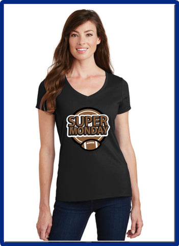 Super Monday - LPC450V Port & Company® Ladies Fan Favorite™ V-Neck Tee