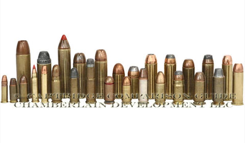 Common Handgun Cartridges