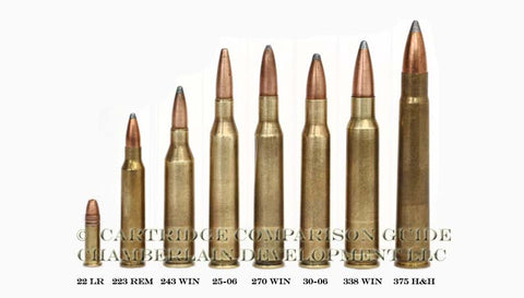 Common Hunting Rifle Cartridges